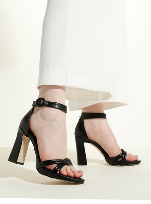Black - High Heel - Heels