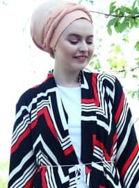 Black - Cotton - Acrylic - Cardigan