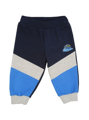 Cotton - Navy Blue - Boys` Pants