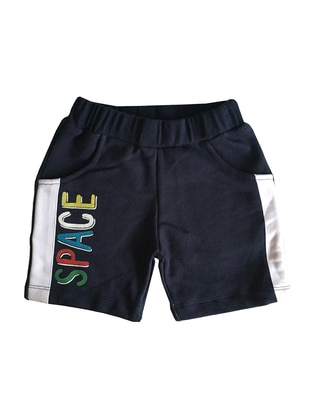 Cotton - Blue - Boys` Pants
