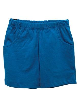 Cotton - Saxe - Boys` Shorts