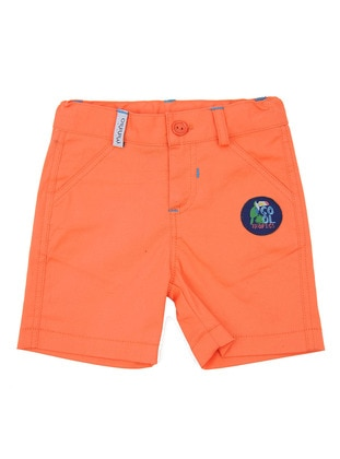Cotton - Orange - Boys` Shorts