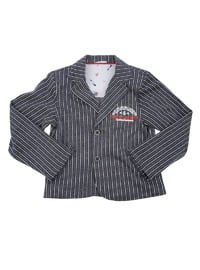 Multi - Cotton - Black - Boys` Jacket