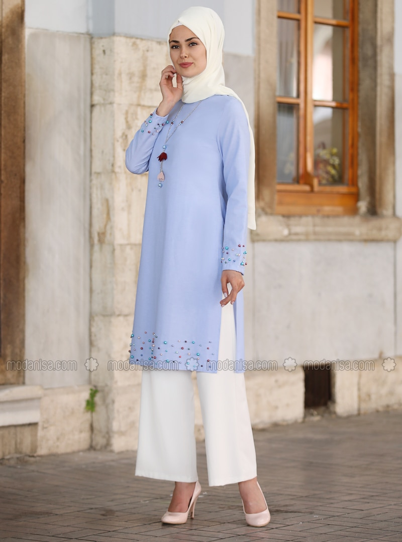 Blue - Unlined - Tunic