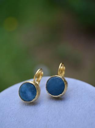 Blue - Earring - Stoneage