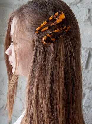 Orange - Leopard - Buckle