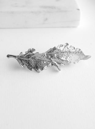 Silver tone - Buckle