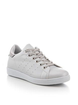 Gray - Metallic - Sport - Sports Shoes