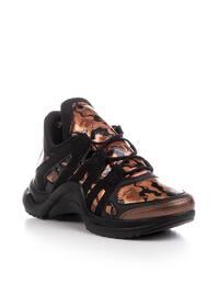 Black - Leopard - Sport - Sports Shoes