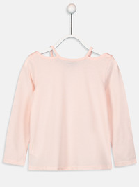 Crew neck - Pink - Girls` T-Shirt