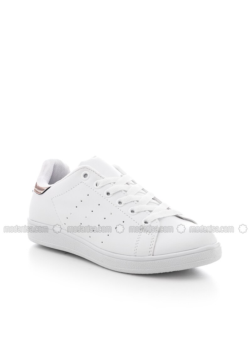 White - Copper - Sport - Sports Shoes