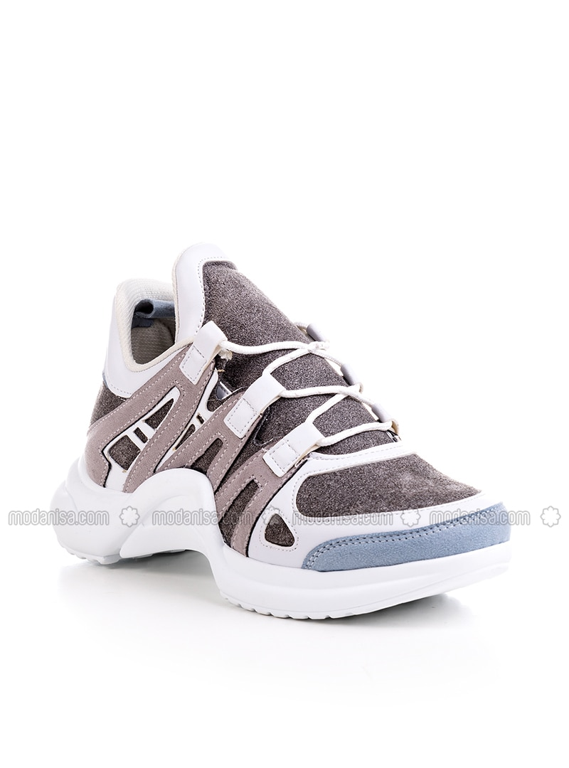 Blue - Gray - Sport - Sports Shoes