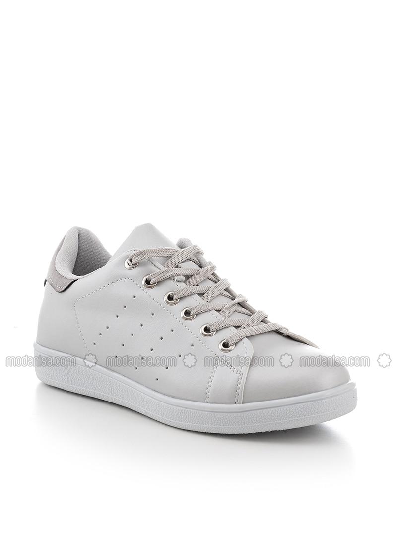 Gray - Metallic - Sport - Sports Shoes