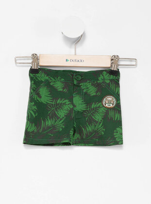 Green - Girls` Shorts