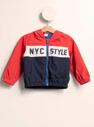 Red - Girls` Jacket