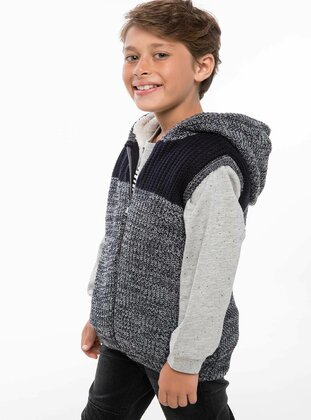 Gray - Girls` Vest