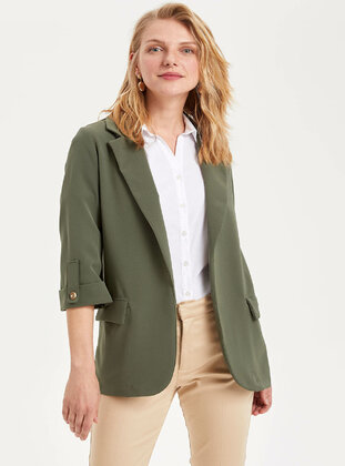 Green - Girls` Jacket