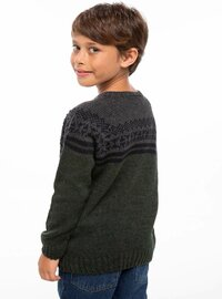 Khaki - Girls` Pullovers