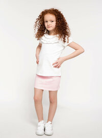 Pink - Girls` Skirt