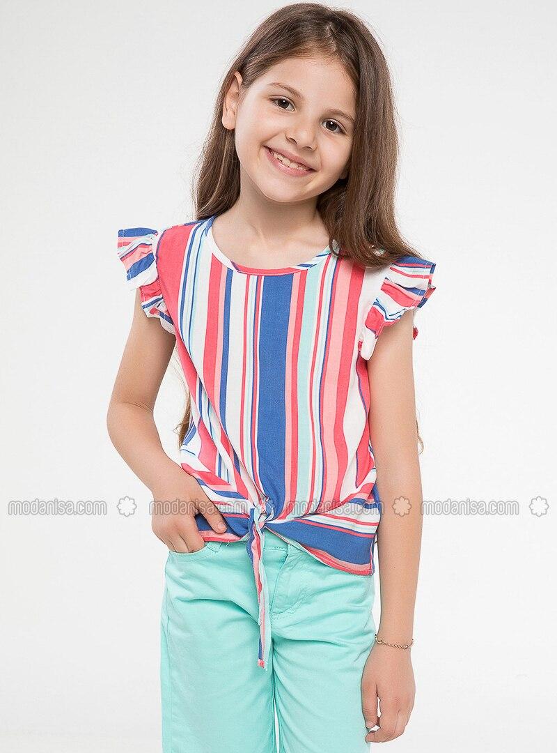 Turquoise - Girls` Shorts