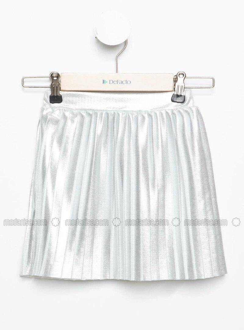 Silver tone - Girls` Skirt