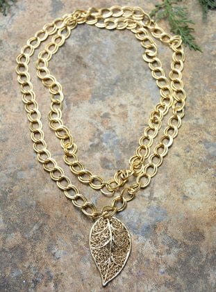Gold - Necklace - Artbutika