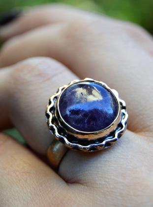 Purple - Ring - Artbutika