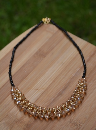 Beige - Necklace