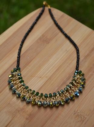 Green - Necklace - Artbutika