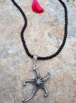 Black - Necklace - Artbutika
