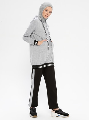 Gray - Tracksuit Top