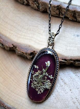 Purple - Necklace - Artbutika