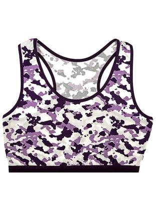Purple - Cotton - Undershirt