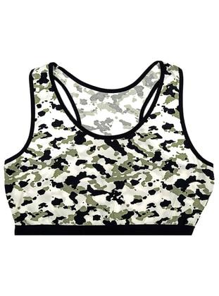 Green - Cotton - Undershirt