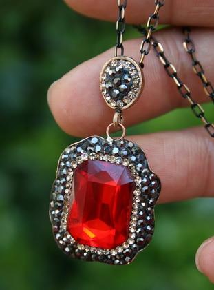 Red - Necklace - Artbutika
