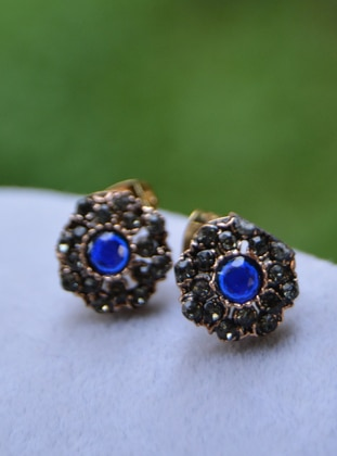 Blue - Earring - Artbutika