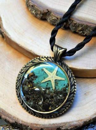 Blue - Necklace - Artbutika