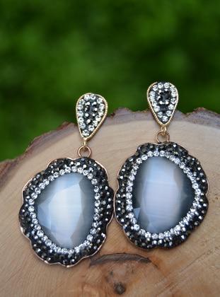 Gray - Earring - Artbutika