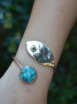 Blue - Turquoise - Bracelet - Artbutika