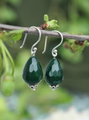 Green - Earring - Artbutika