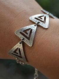 Silver tone - Bracelet - Artbutika