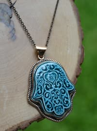 Turquoise - Necklace - Artbutika