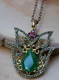 Green - Necklace - Artbutika