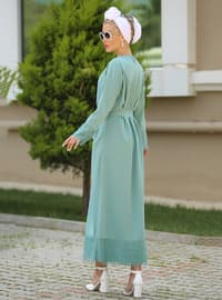Mint - Crew neck - Unlined - Dress