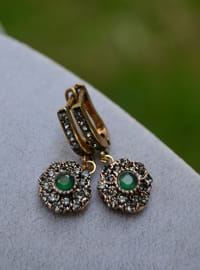Green - Earring - Artbutika