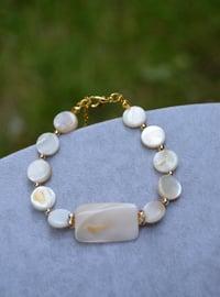 Beige - Bracelet - Stoneage