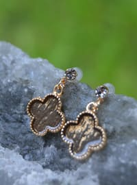 Brown - Earring - Stoneage