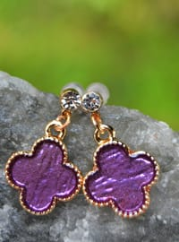 Lilac - Earring - Stoneage