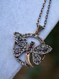Gray - Necklace - Artbutika