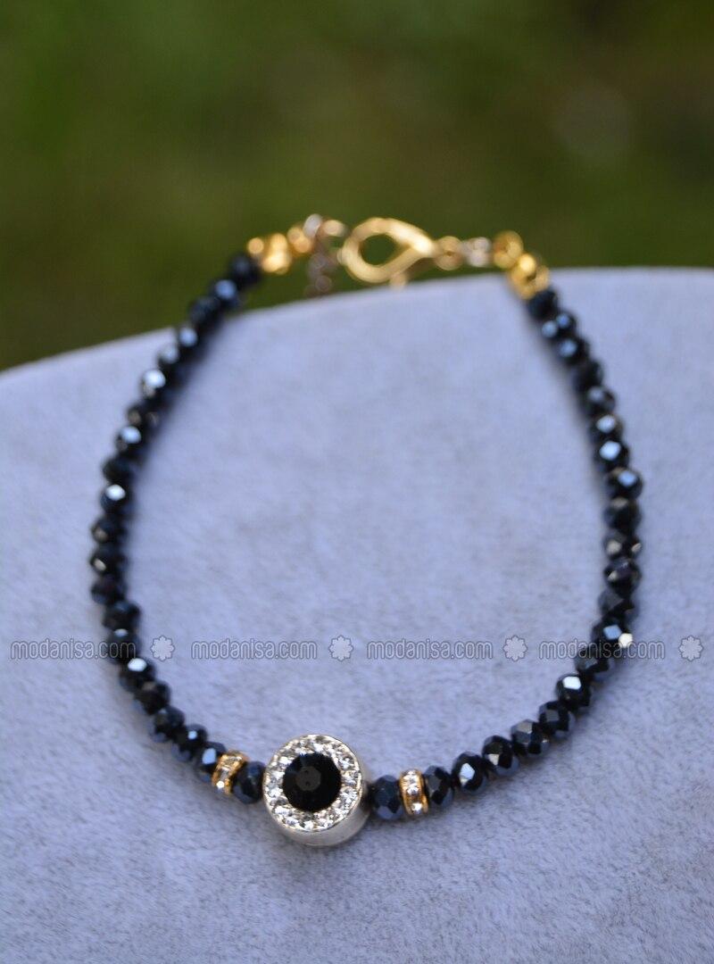 Black - Bracelet - Stoneage